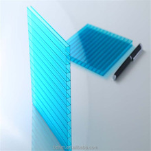 Transparent polycarbonate hollow PC sheets roof plastic ceiling panel from chinese manufacturer
