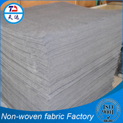 Trade Assurance Melt Blown PVC Leather Backing Sofa Nonwoven Fabric
