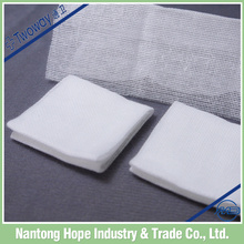 medical absorbent gauze swab for bleeding stop