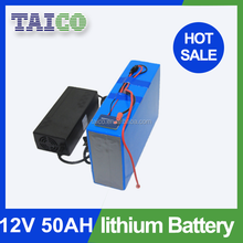 Lithium ion Battery 12v 50ah With Battery Charger