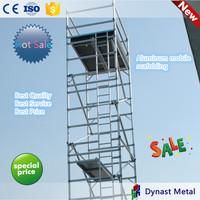 Aluminum scaffolding tower mobile frame scaffolding