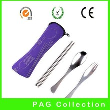 restaurant spoon fork knife cutlery bag/pouch/holder