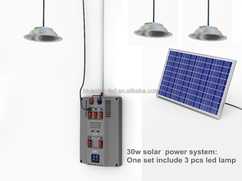 new resource 30w solar energy system