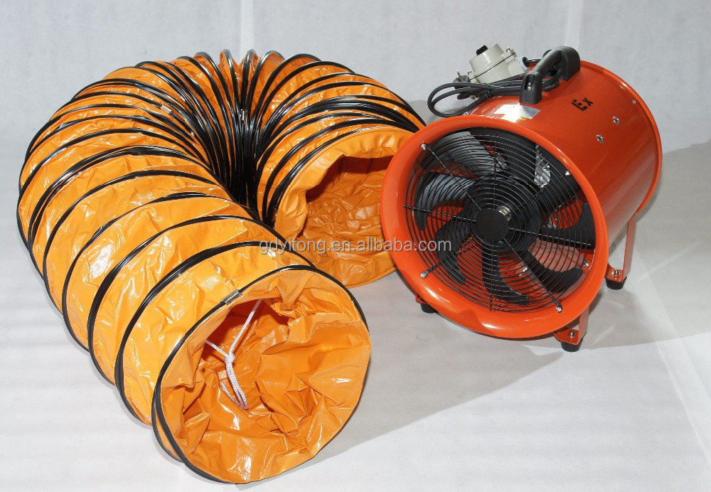 Hot sales OEM PVC flexible air duct hose with high temperature resistant can connect Portable ventilator