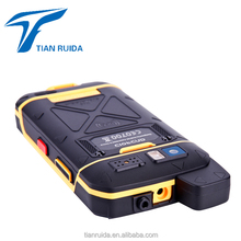 "5"" Cheap military grade industrial 4G LTE IP68 waterproof rugged cell mobile smart PDA phone android 7 with NFC RFID big battery"