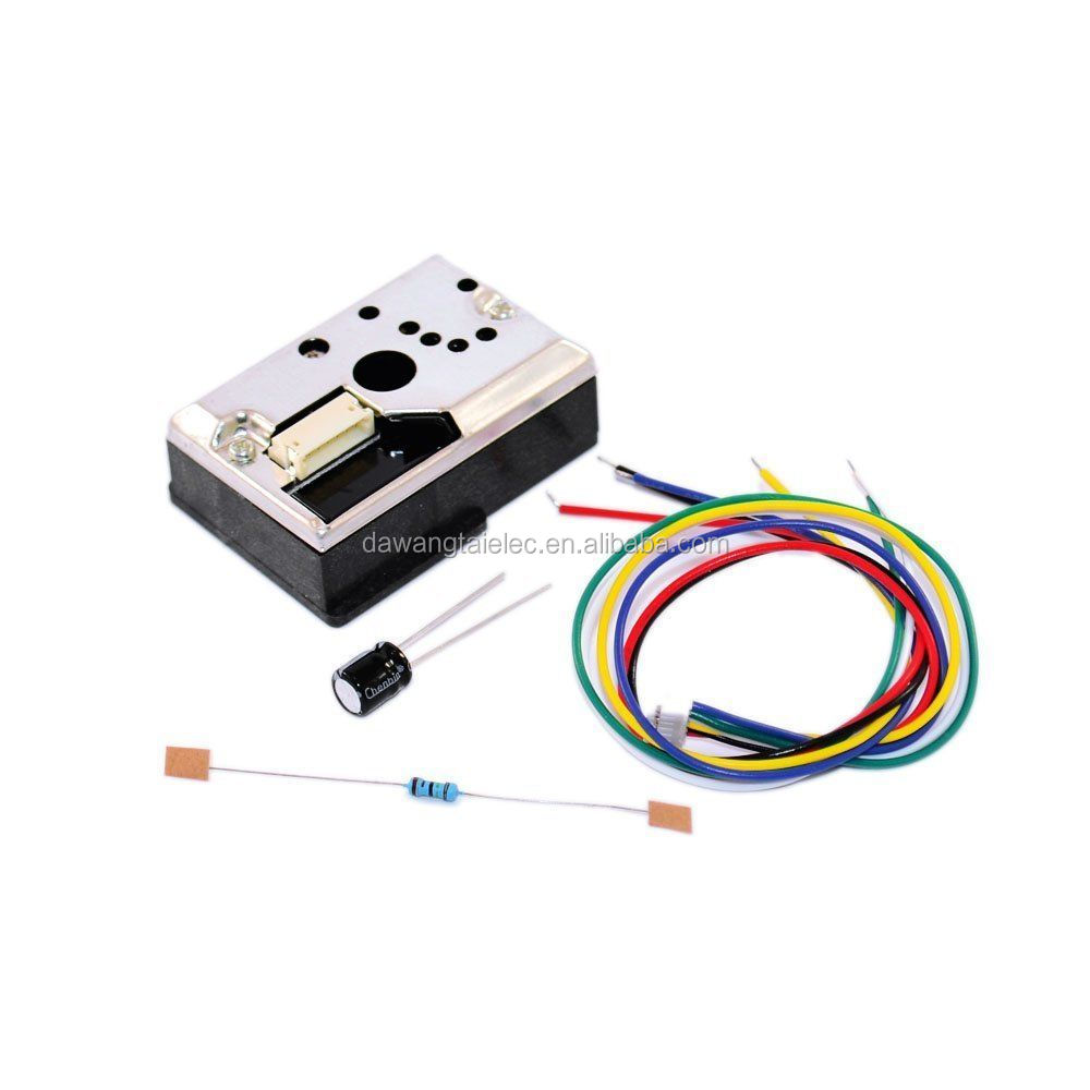 GP2Y1010AU0F Compact Optical Dust Sensor Smoke Particle Sensor With Cable
