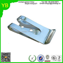 custom metal money clips/cheap money clip/flat metal clip from dongguan hardware factory