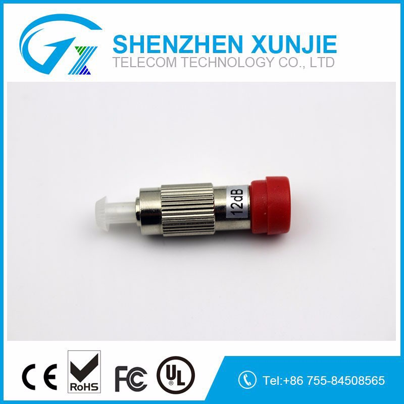 Best Price SM Fixed Male-Female Fiber SC/FC/LC/ST/MU/E2000 plug-in fixed 1-30dB Fiber optic attenuator