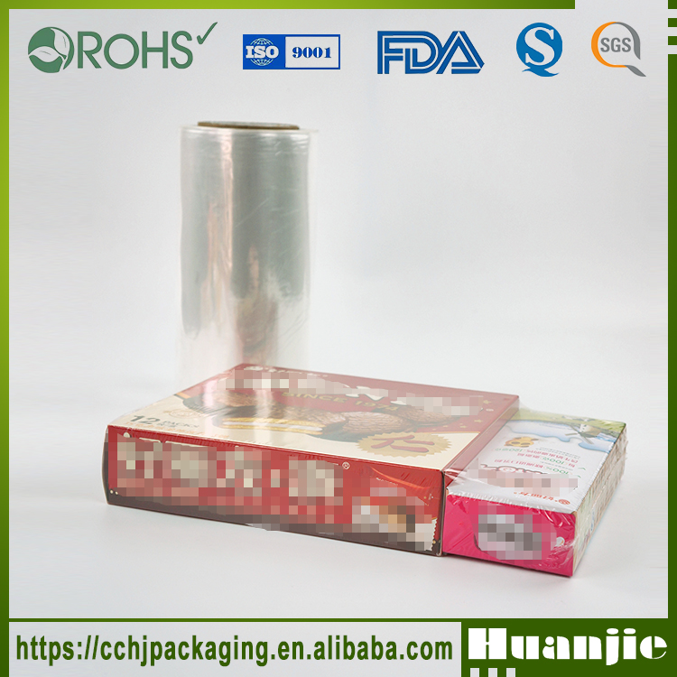 Eco-Friendly Packing Material Clear Pof Shrink Film In Roll