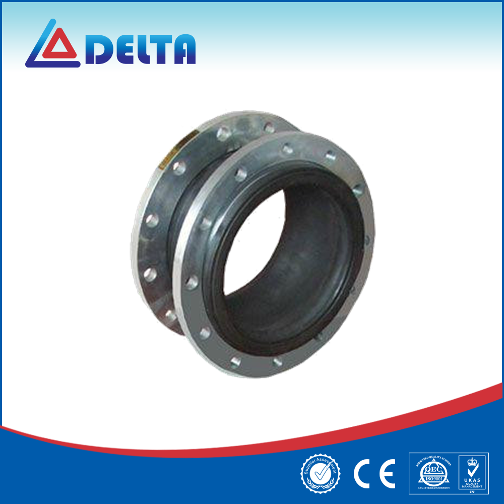 Rubber Flexible Single Sphere Expansion Joints / Metal Bellows