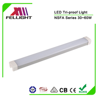 High efficiency led linear lighting fixture