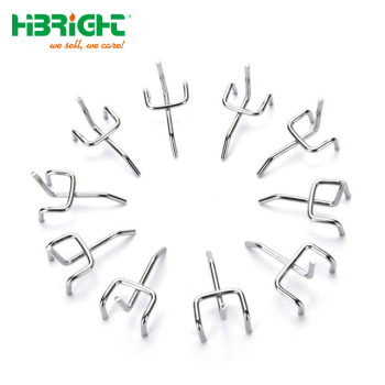 Euro Plastic Metal Warehouse Pegboard Hook