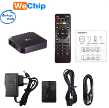 New chip ott tv box X96mini Amlogic S905W smart box Android 7.1 4K Full HD Media Player KDPLAYER 17.3 with Wall hanging X96