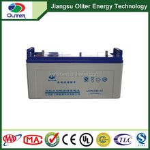 UPS battery 12v 120ah solar lead-acid battery