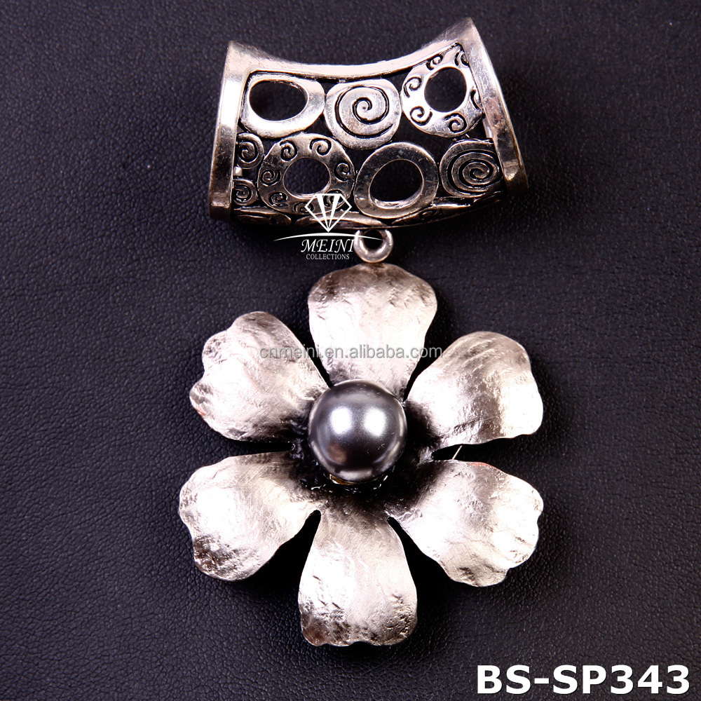 new flower Scarf pendant