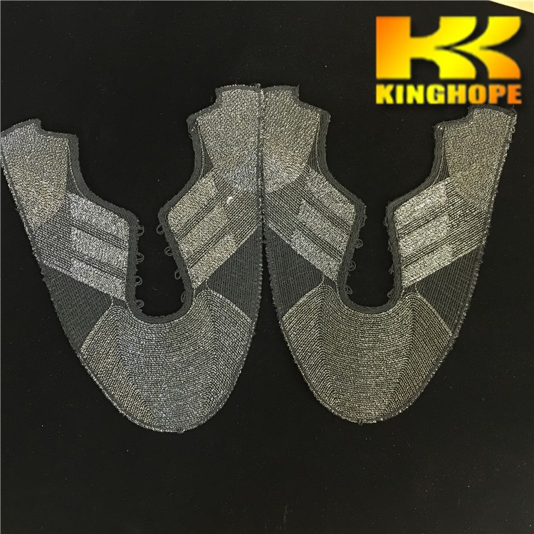 Knitting shoe upper