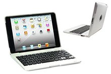 For iPad2/3/4 Bluetooth Wireless Keyboard Cover Case with Stand for iPad 2/3/4. Built In 4000 mah Power Bank Lithium Battery