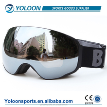 Rimless Double Lens spherical Snowboard ski Goggles