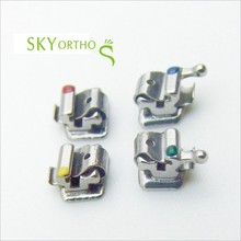 New Dental Orthodontic Mini self ligating brackets with CE / ISO,3,4,5 hooks