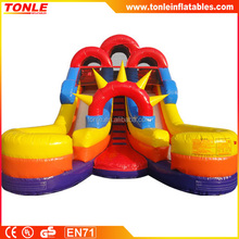 jumbo inflatable water slide for water park for 2016