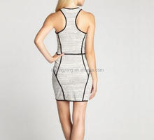 Runwaylover L410 New Style 2017 Women Sexy Off-Shoulder Bandage Mini Dress