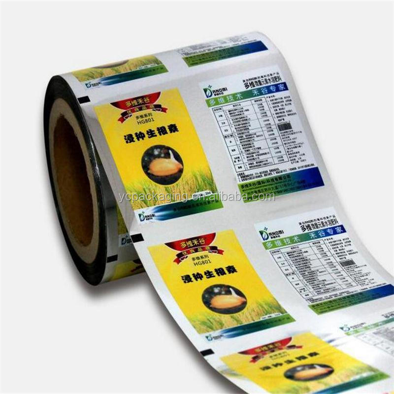 Gravure printing customized automatic Plastic packaging Pvc twist Roll film for candy bar wrapper.