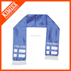 Cheap custom promotional scarf with printing logo
