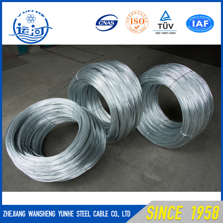Factory Steel High/Low Carbon Galvanized/ Coated Wire for Binding