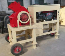 Low price small diesel engine mobile hammer crusher portable mini used rock crusher for sale