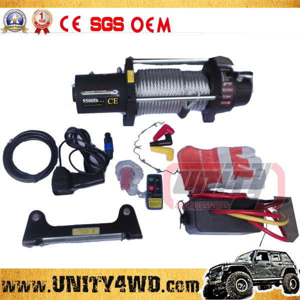 offroad accessories 9500lbs 12V Electric Winch