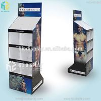 Custom printing cloth display stand platform, made in china bra display
