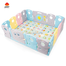 14+2 large playpen for baby plastic baby playpen