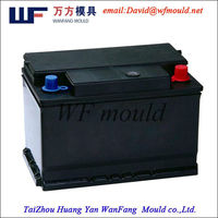 plastic injection mould for car battery case/shell/box/container mould