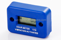 Powersports LCD Vibration Hour Meter for Suzuki Generators Outboards Quad Jet Ski