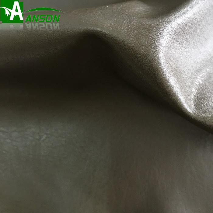 AS121 OEM pu faux leather for clothing fabric
