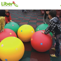 Children Indoor Soft Play Colorful Large Plastic Toy Ball for Kindergarten
