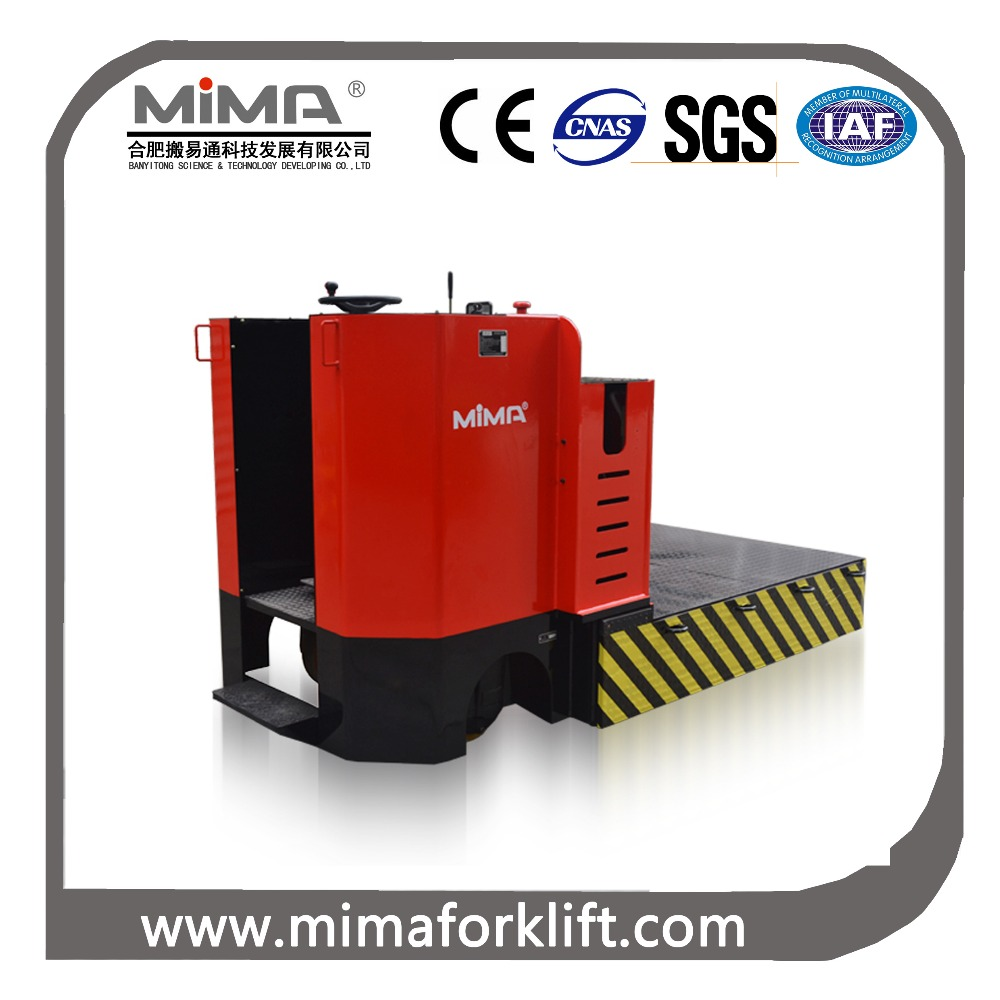 heavy type 20000kg capacity electric truck for die and mold carrying