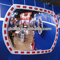 acrylic oval high reflective mirror