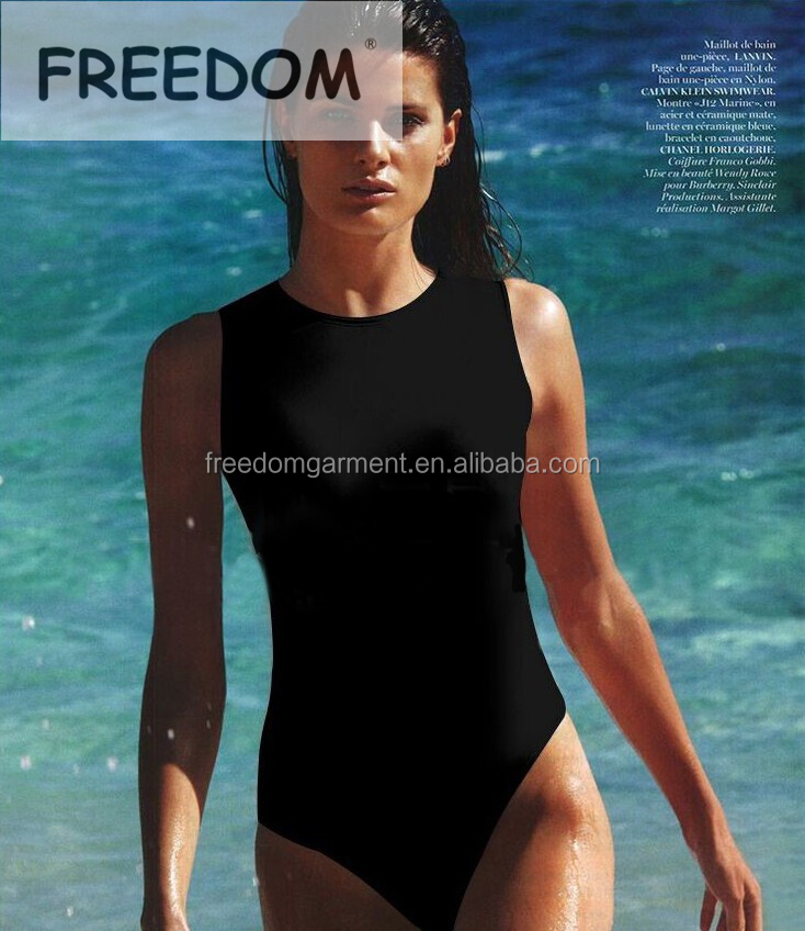 Latest Design Young Girls Sex One Piece Swimwear