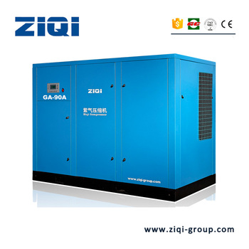 Single Stage Air Cooling Air Compressor Machine For Sandblasting