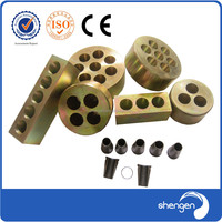 excellent quality best brand Block steel metal material strand wedge anchors