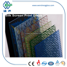 Ceramic fritted glass
