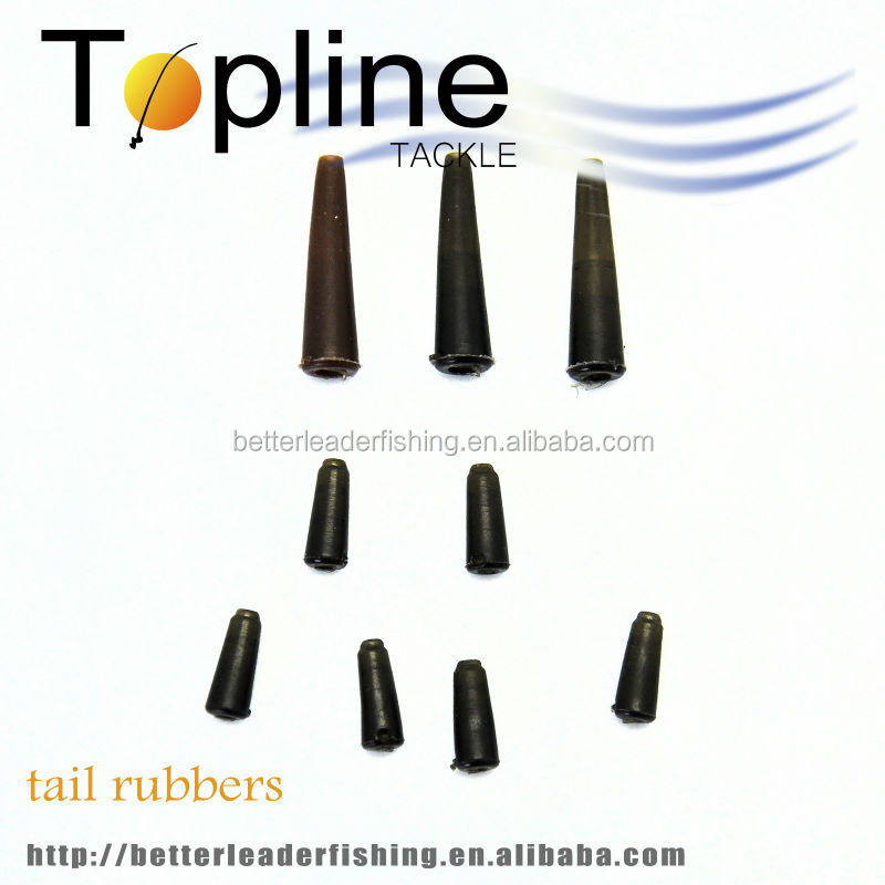 cheap good quality fishing carp tail rubbers made in China
