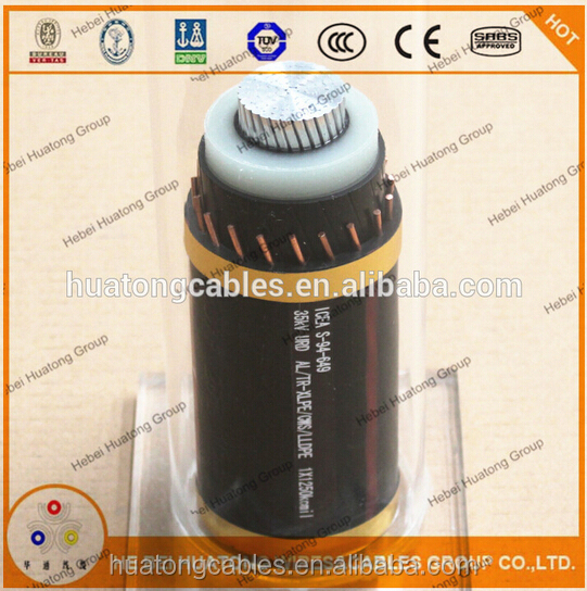 35KV UL approved 1AWG aluminium conductor URD cable