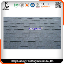 ASTM Gothic Standard Asphalt Shingles, Bitumen Roofing Tiles For Wooden House