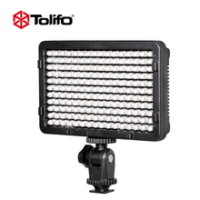 China Supplier Tolifo 11W Portable LED Video Camera Light Panel Lamp Photographic Lighting with LED Display for DSLR Camera