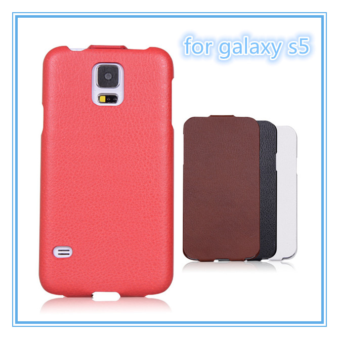 Litchi Pattern PU Leather Cell Phone Cases For Galaxy S5,Cases for Samsung S5
