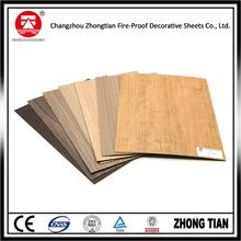 Hot selling decorative exterior wall cladding hpl boards with low price