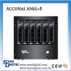 Sans Digital AccuNAS AN6L+B 64bit iSCSI and Windows/MAC/Linux Files Shared Dual GB NAS Storage