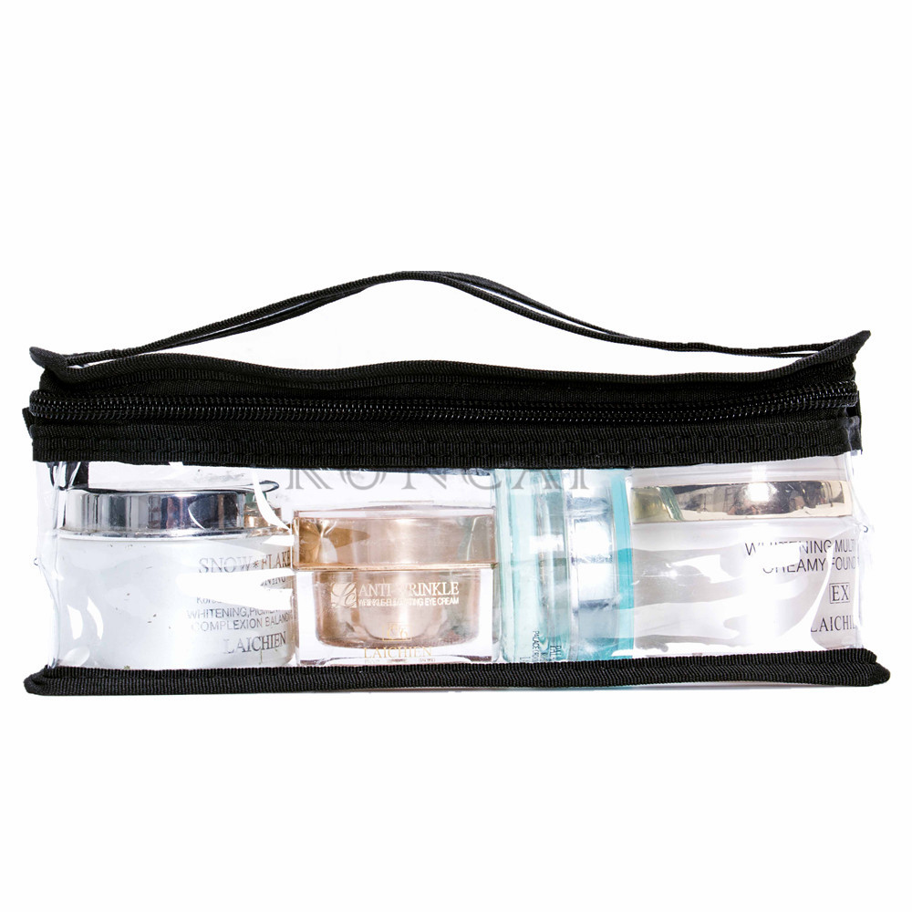 Transparent makeup bag more convenient in life